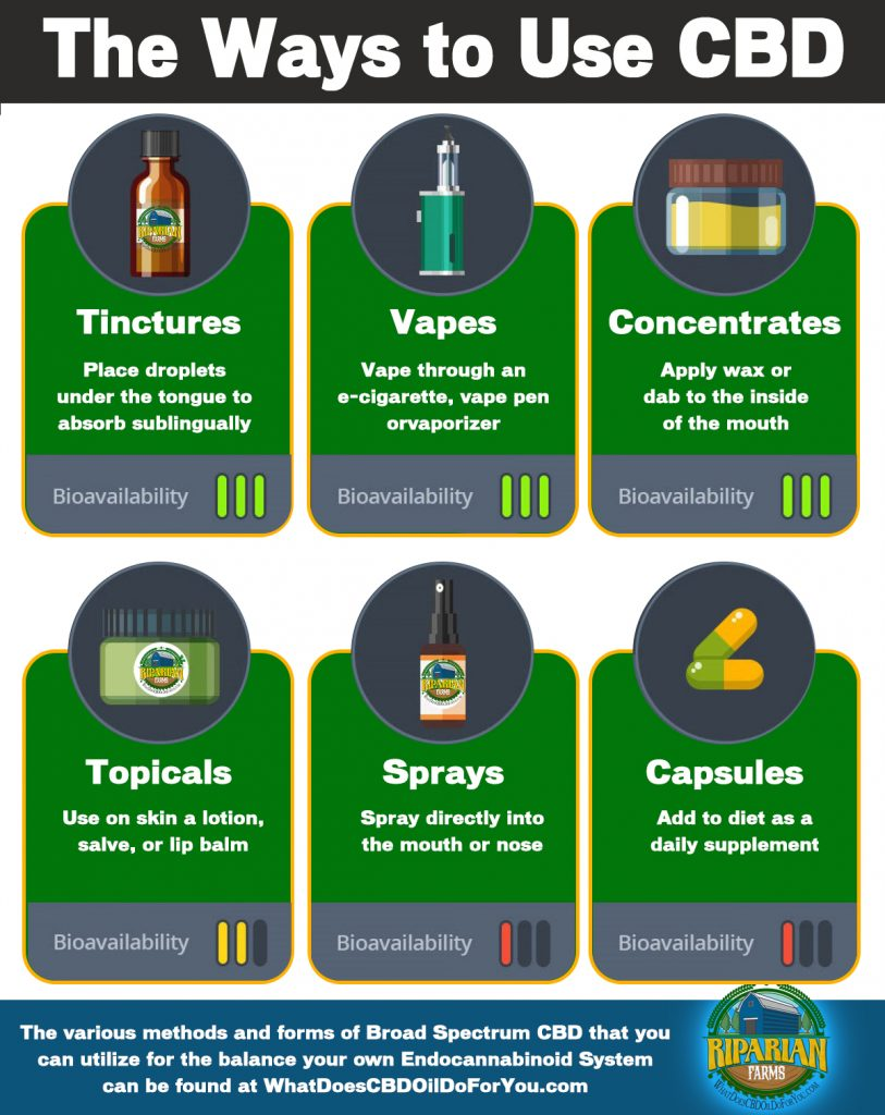 How to Take CBD Oil - Ingestion, Sublingual, Topical and
